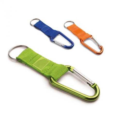 Porte-clés + mousqueton