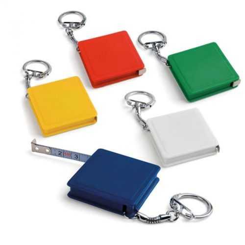 Porte-clés avec ruban à mesurer 1 m