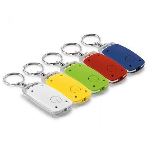 Porte-clés aluminium avec lampe à LED