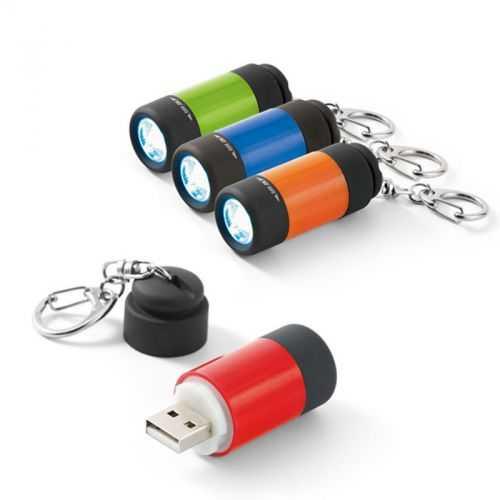Porte-clés avec lampe LED rechargeable