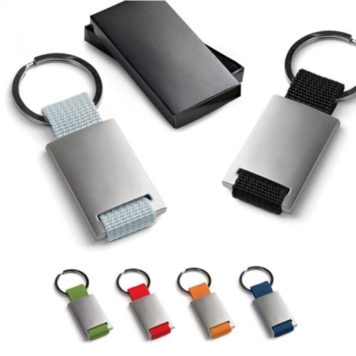 Porte-clés métal et webbing.