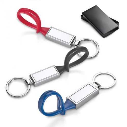Porte-clés métal et PVC