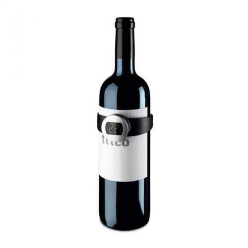 Thermomètre digital noir pour le vin