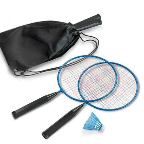 Raquettes de badminton bleu clair