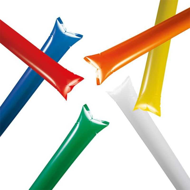 Bâtons gonflables personnalisé couleur