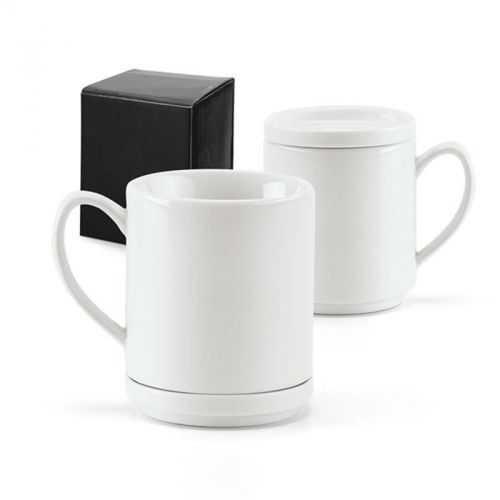 Tasse porcelaine blanche