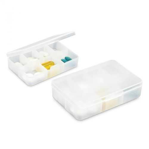 Pilulier 7 compartiments blanc
