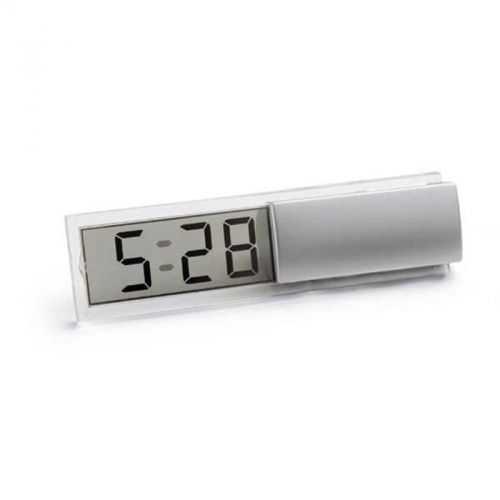Horloge argenté + calendrier