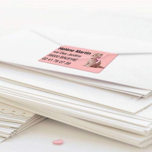 Étiquettes adresse