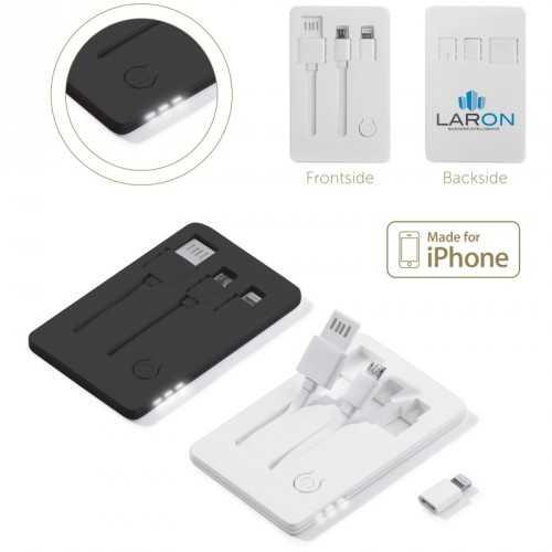 Clé USB carte crédit avec lampe