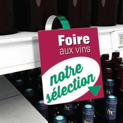 Etiquettes personnalisées Stop Rayons Foire