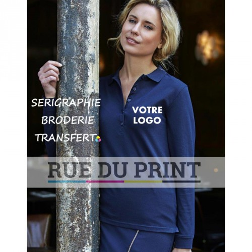 Polo femme Luxe S-L