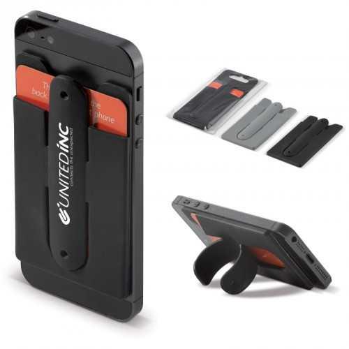 Porte-cartes support téléphone