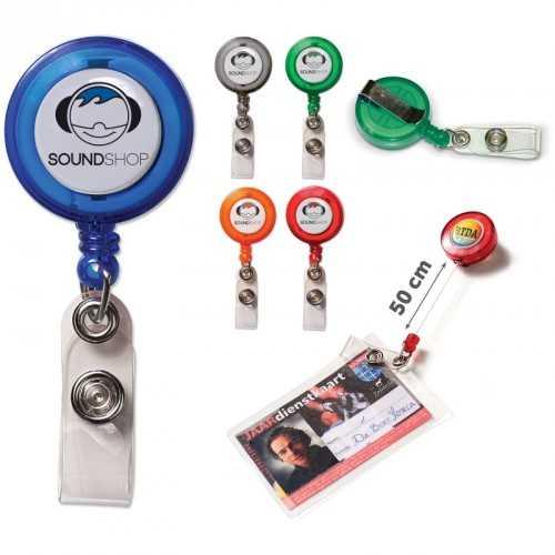 Porte-badge personnalisé couleur
