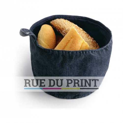 Panier à pain en tissus publicitaire
