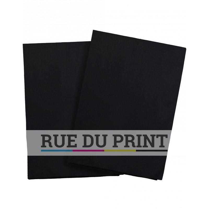 serviettes en lin blanc ou noir accessoires personnalis s. Black Bedroom Furniture Sets. Home Design Ideas