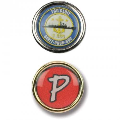 Pins rond personnalisé