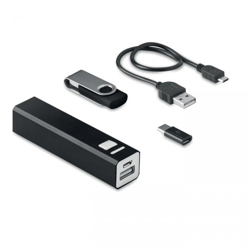 Coffret power bank et usb USB&POWER