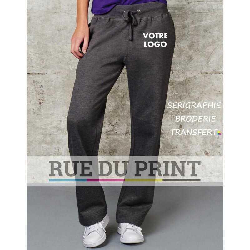 Original pantalon publicité jogging 80% coton, 20% polyester, 300 g/m2 Style unisexe Bande de taille en lycra côtelé