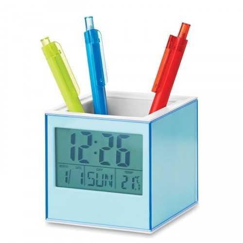 Pot à crayons avec horloge PICTORAMA