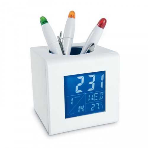 Station météo avec porte stylo CUBO