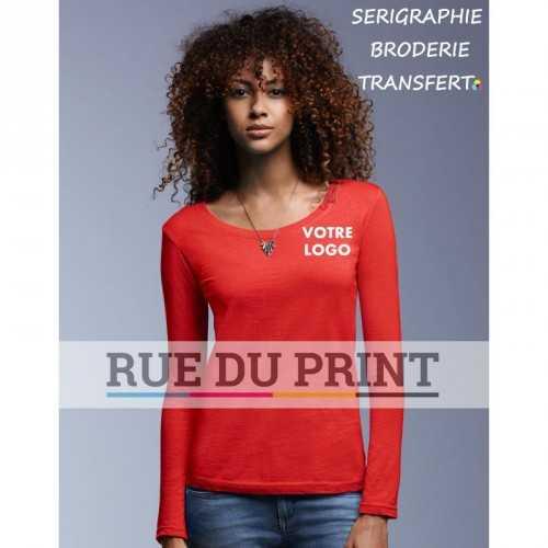 Tee-shirt femme LS Scoop