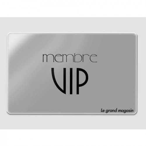Cartes prestige personnalisée VIP