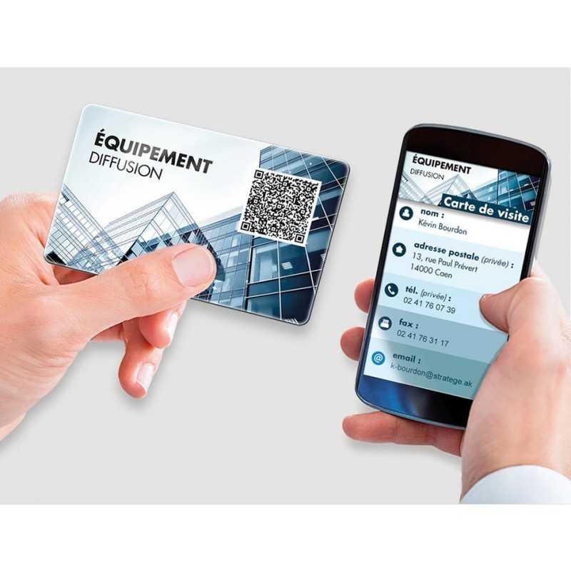 Cartes QR codes personnalisée