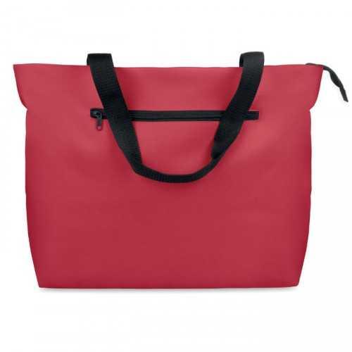 Grand sac de plage Publicitaire rouge MAYA