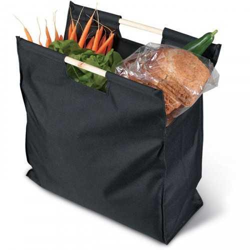 Grand sac shopping Publicitaire noir MERCADO