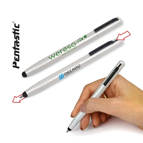 Stylo à bille touch PENTASTIC CONTACT
