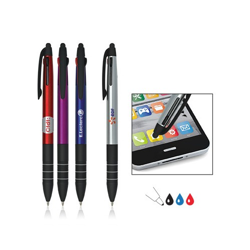 Stylo touch 3 couleurs SLIMPEN