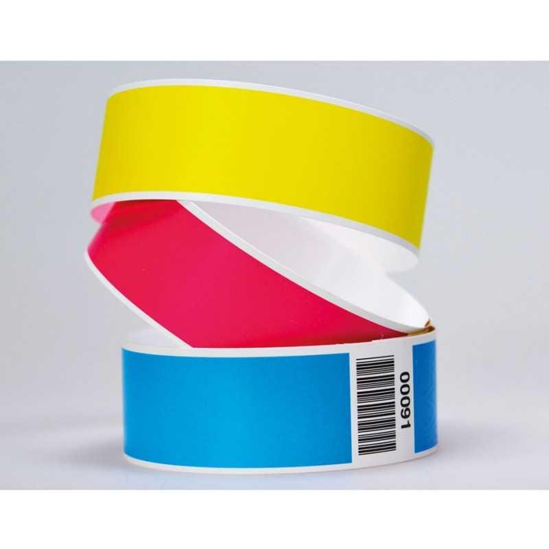 Bracelets de contôle sans marquage couleur personnalisable