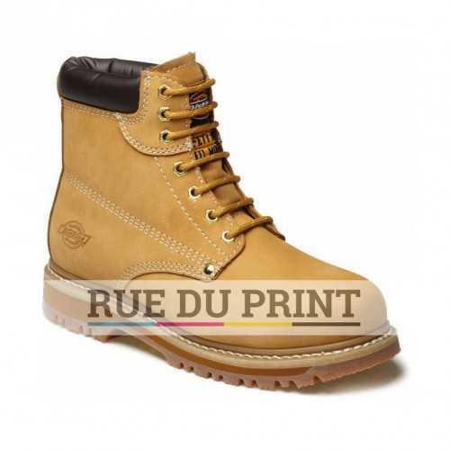 Chaussures publicités de sécurité Cleveland Ext: 100% cuir nubuck intérieur Cambrelle® doublure respirante et rembourrée 1/4 p
