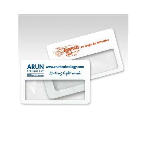 Carte loupe personnalisée