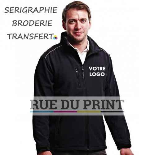 Softshell publicité Sandstorm Workwear 94% polyester, 6% spandex revêtement: 100% polyamide