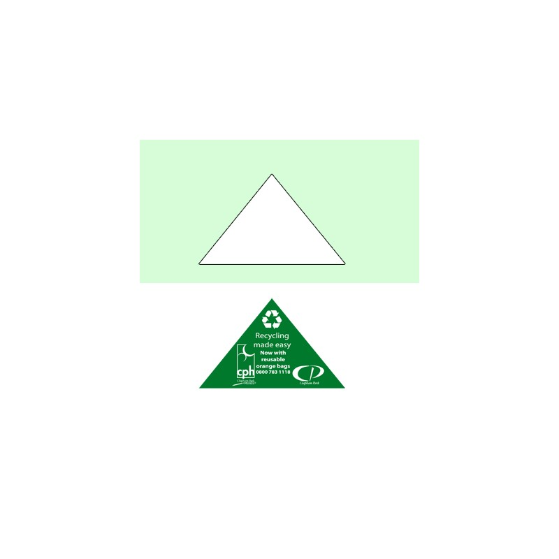 Magnet triangle B personnalisable