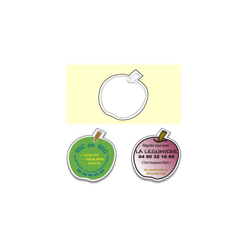 Magnet pomme C personnalisable