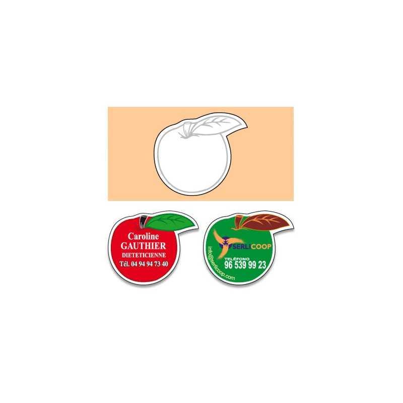 Magnet pomme D personnalisé