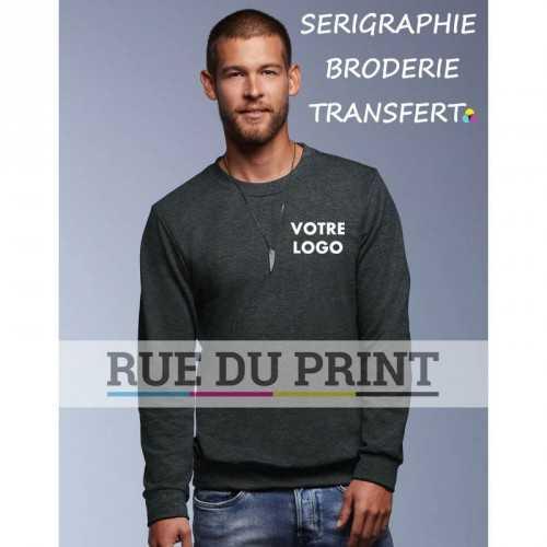 Sweat publicité Terry60% polyester (polaire terry), 40% coton ringspun prérétréci, 237 g/m²