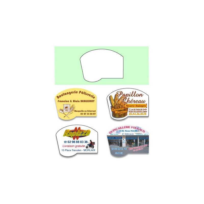 Magnet boulangerie B personnalisable