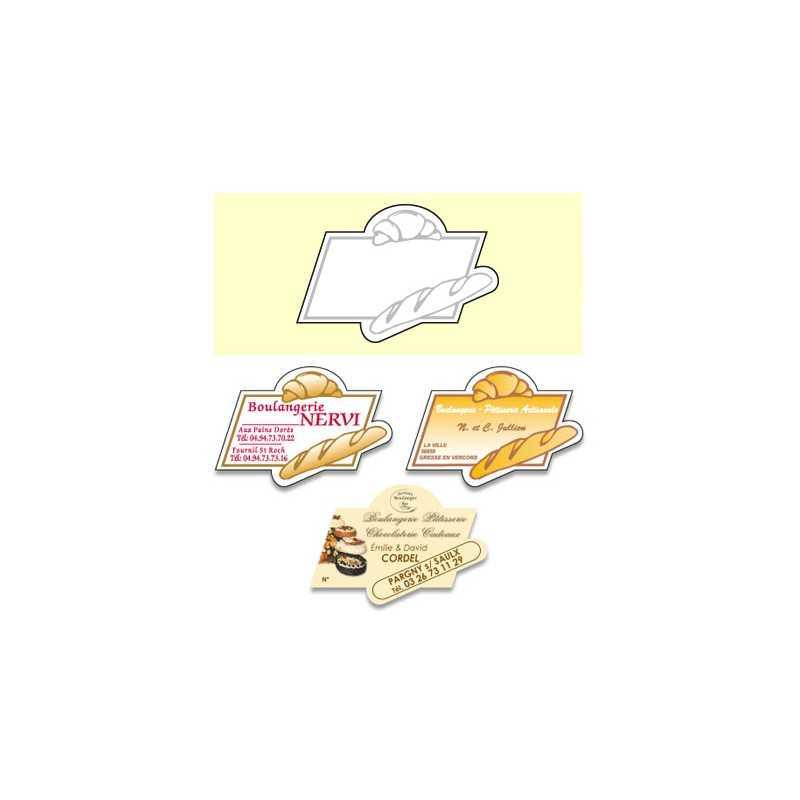 Magnet boulangerie C personnalisable