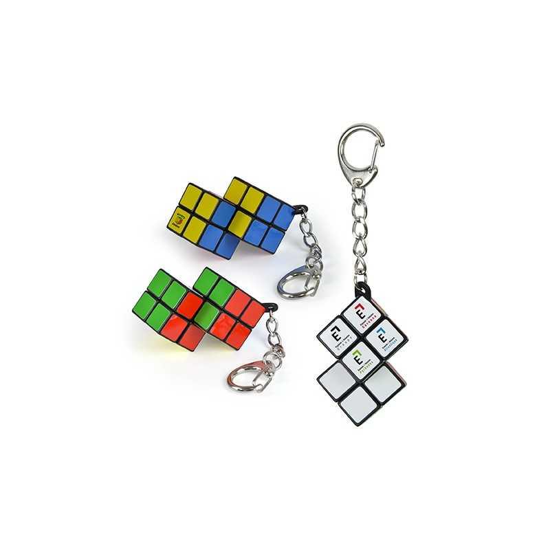 Porte-clés multi-cubes double 2x2x2