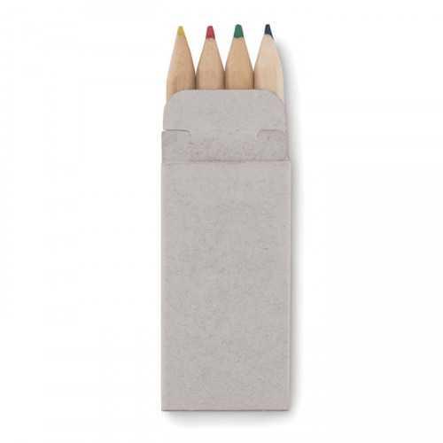 4 mini crayons de couleur