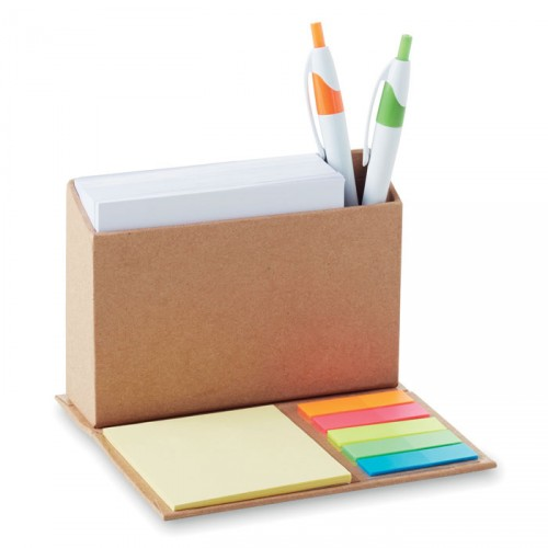Support pliable avec bloc-notes - RECYCLO HOLDER