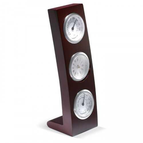 Pendulette, hygromètre et thermomètre - CLASSIC