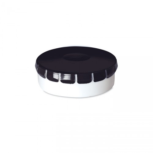 MINTO Boîtes personnalisable en plastique et couvercle en fer blanc contenant 10gr menthes sans sucre.