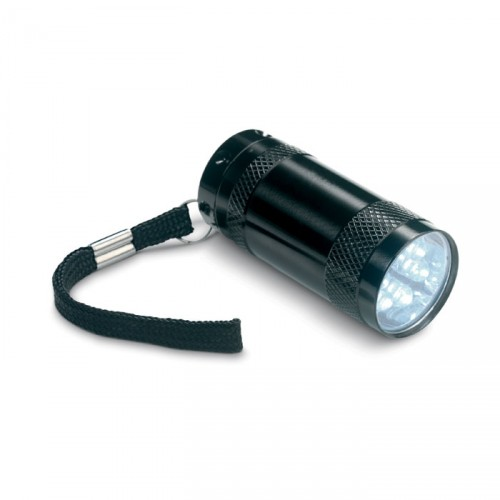 Mini lampe torche 6 LED avec dragonne