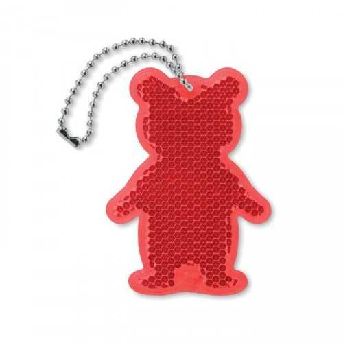 CATCHB Porte-clés personnalisable en acrylique réfléchissant.