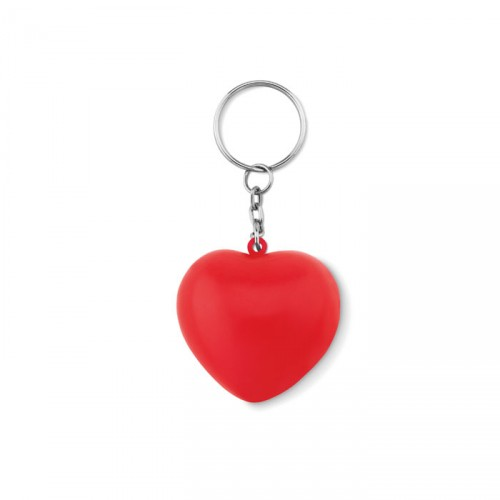 LOVY RING Porte-clés personnalisable en PU forme de cœur.